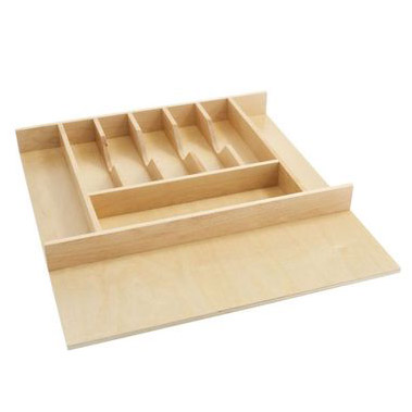Natural Maple Cutlery Tray