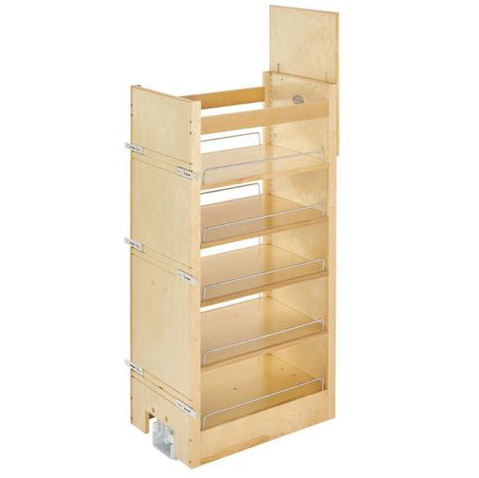 rev-a-shelf natural maple base pull-out organizer