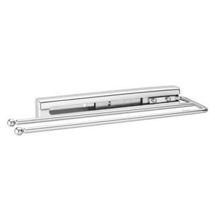 Chrome Pull-Out Towel Bar