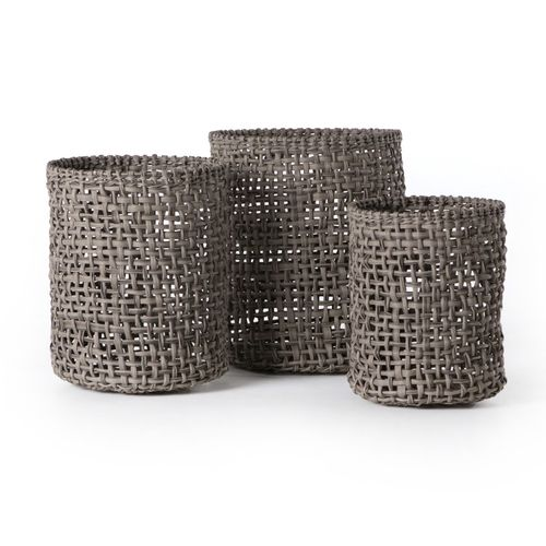 beautiful woven basket for home storage
