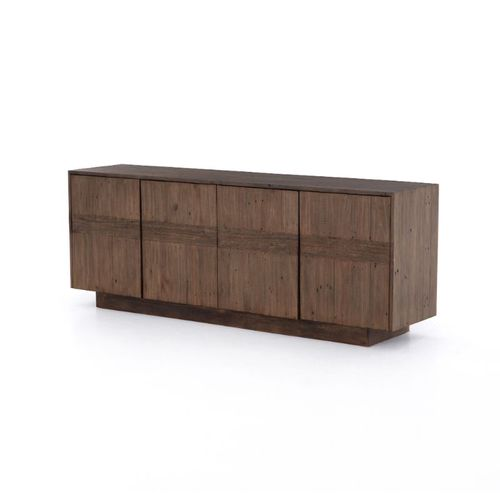 wood sideboard, a perfect living room storage solution