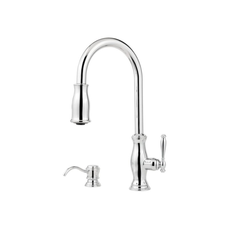 Single-Handle Pull-Down Faucet