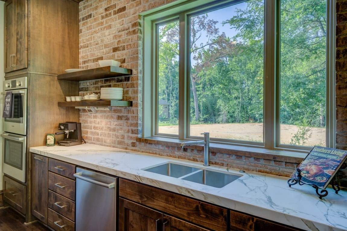 Rustic cost-effective kitchen