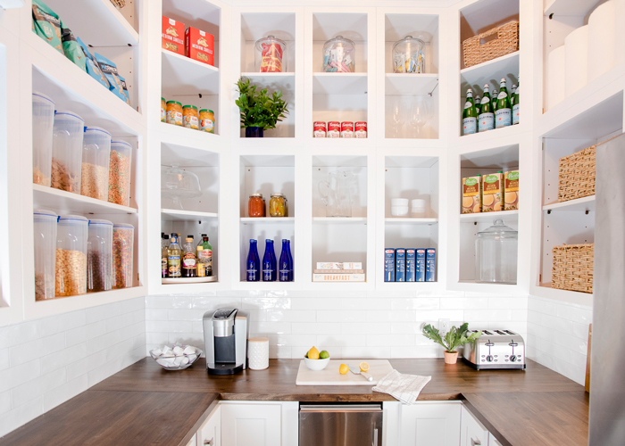 pantry redesign