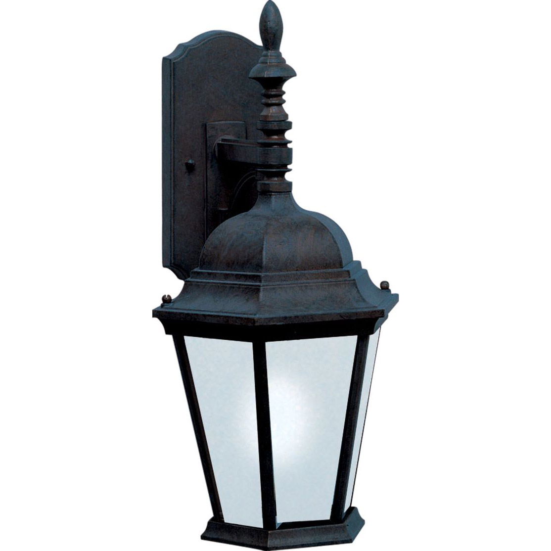 black outdoor wall sconce