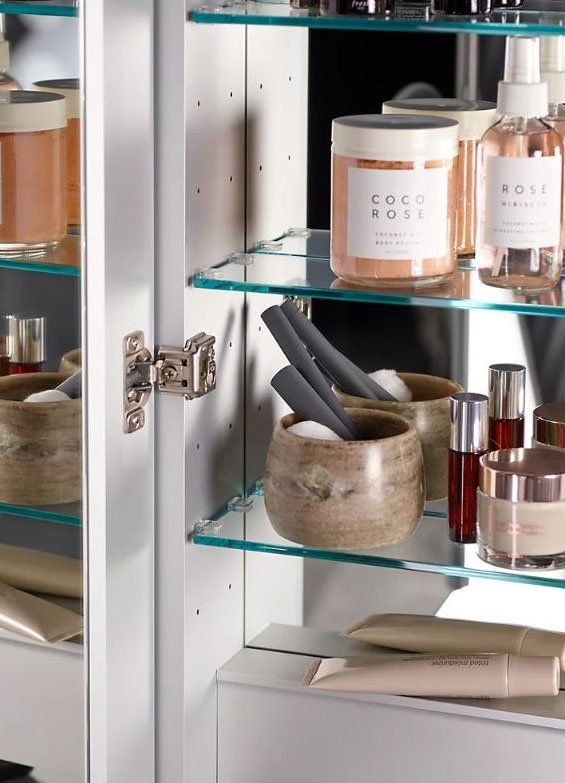 toiletry products sitting on a shelf
