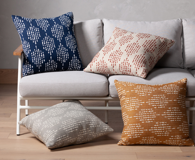 statement pillows for the outdoors