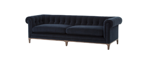 English Rolled Arm style sofa