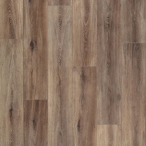 """Fairhaven 7.56"""" x 50.5"""" Brushed Coffee Laminate Plank Flooring 21.22 sq. ft."""
